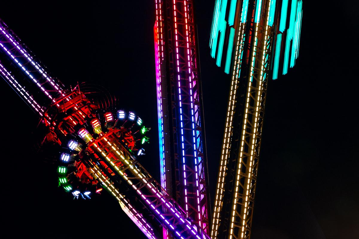 rollercoaster lights